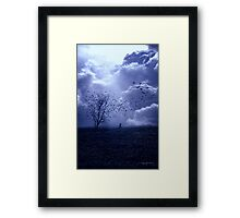 It Must Get Lonely There Sometimes... Framed Print
