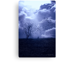 It Must Get Lonely There Sometimes... Canvas Print
