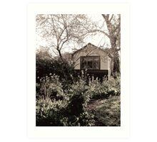 cottage Art Print