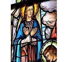 Window Detail, The Assumption Photographic Print