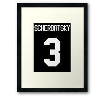 SCHERBATSKY Framed Print