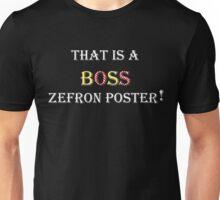 """AVPM """"Boss Zefron Poster"""" Unisex T-Shirt"""