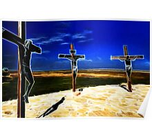 Darkness at the Crucifixion of Jesus Poster