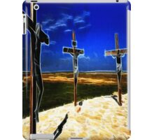Darkness at the Crucifixion of Jesus iPad Case/Skin