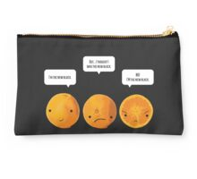 This Orange Thinks It's The New Black Studio Pouch