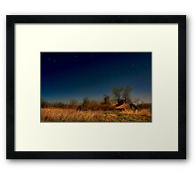 """"""" It Came Upon a Midnight Day """" Framed Print"""
