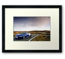 The Audi R8 V 10 .... Framed Print