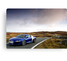 The Audi R8 V 10 .... Canvas Print