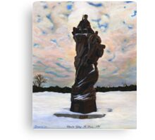 "10th Mountain Division ""Climb to Glory"" Canvas Print"
