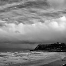Storm front over Scarborough by clickinhistory