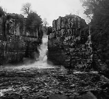 Beyond such falls, lies the land of ancient tales and myths by clickinhistory