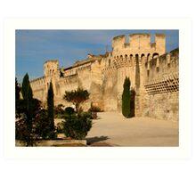 Walls of Old Avignon * Art Print