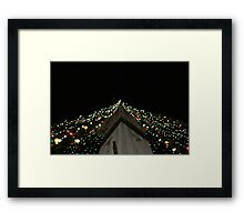 Christmas On The Circle Framed Print