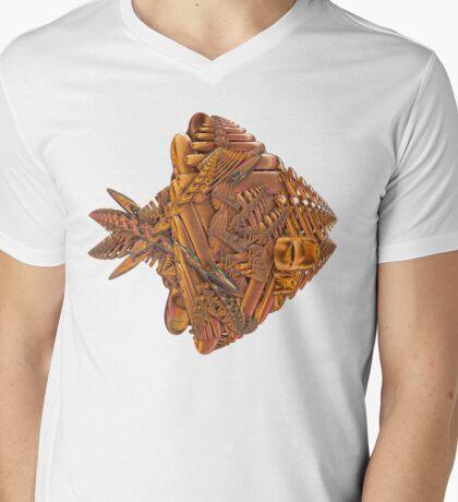 Teezers 122 Mens V-Neck T-Shirt