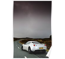 The new Lotus Evora .... Poster
