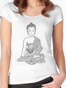 Buddha Women's Fitted Scoop T-Shirt