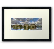 Leeds Castle Pano 2 Framed Print