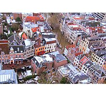 City view from the tower Photographic Print