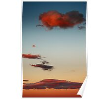 Gratuitous Sunset Cloud Photo #193657 Poster