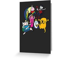 NINJIA CREW Greeting Card