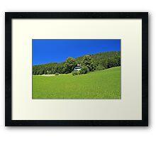 Fuschl Lake District Framed Print