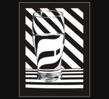 Zebra juice No1 T-Shirt by Sally Green