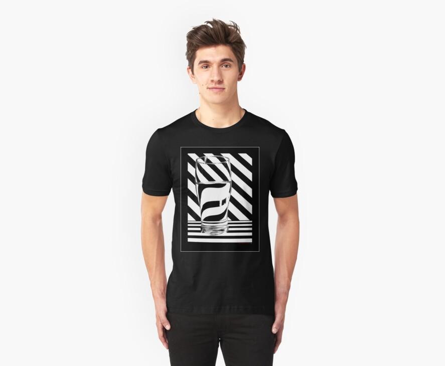 Zebra juice No1 T-Shirt by Sally Green