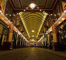 London Light - Leadenhall Market by Will Kent