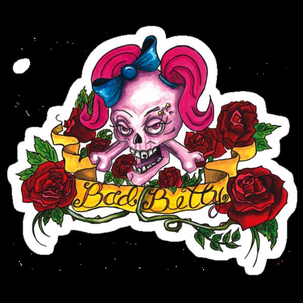 """Bad Betty"" by ArtbyMonica"