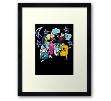 CLOUD CREW Framed Print