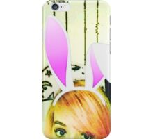 Comic bunny iPhone Case/Skin