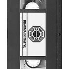 Dharma Initiative VHS - Orientation Tape (LOST) by BenFraternale