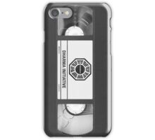 Dharma Initiative VHS - Orientation Tape (LOST) iPhone Case/Skin