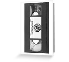 Dharma Initiative VHS - Orientation Tape (LOST) Greeting Card