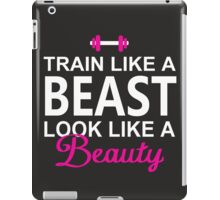 Train Like A Beast iPad Case/Skin
