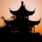 Sunset in Nanchang by PhilippeStephan