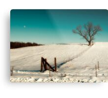 After effects from xmas snow storm. Metal Print