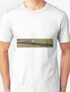 Cattle Grid, Wyoming (panorama) T-Shirt