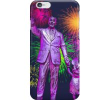 Walt and Mickey Disneyland Fireworks Fantasy in the Sky iPhone Cases and Skins iPhone Case/Skin