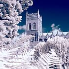 Infra-red Photo of an Ipswich Church by Enchanted Studios