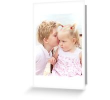 Precious little ones Greeting Card