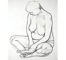 Pencil Nude 017 Photographic Print