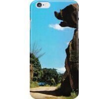 a colourful Nauru landscape iPhone Case/Skin