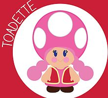 Toadette Love by Katie Kuhlmann