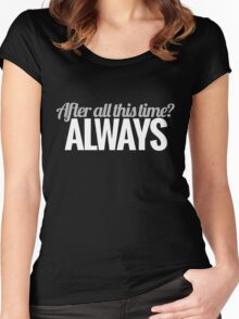 After all this time? Women's Fitted Scoop T-Shirt