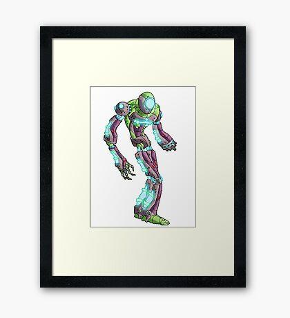 guardian bot II... Framed Print