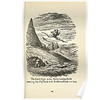 The Cruikshank Fairy Book Four Famous Stories George Cruikshank 1911 0153 The Giant Ogre in his Seven League Boots Poster