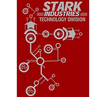 STARK INDUSTRIES TECHNOLOGY DIVISION Photographic Print