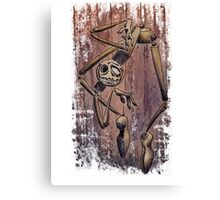 Crazy Cool Puppet Canvas Print