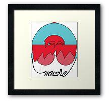 Music Head  Framed Print